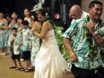 Kona Wedding Bride Dancing