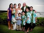 Kona Wedding Portrait, Family