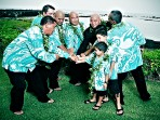 Kona Wedding Groomsmen