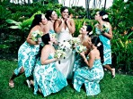Kona Wedding Bridal Party