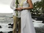 Royal Kona Wedding, Beach Picture