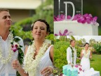 Royal Kona Wedding, Cake Pictures