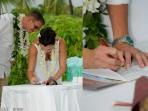 Royal Kona Wedding, Marriage License