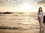 Big Island Maternity Photographer, sunset