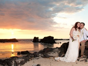 Kona Wedding, Big Island sunset wedding