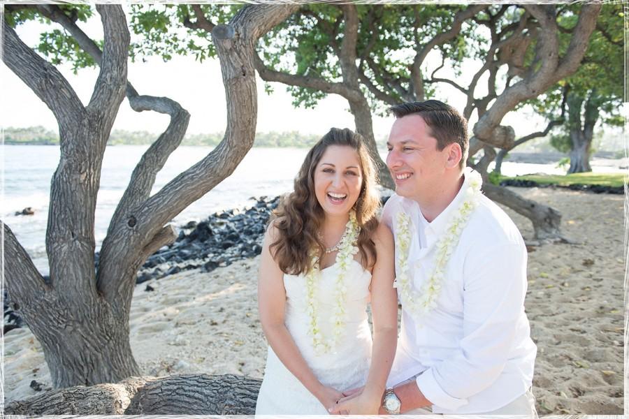 Kona Photographer, Kikaua Point Wedding