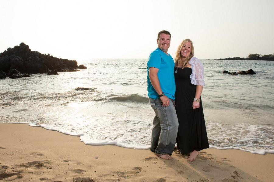 Kona Family Photographer, Mom and Dad