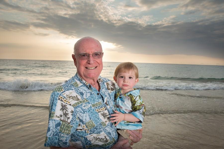 Big Island Family Photographer, grandpa