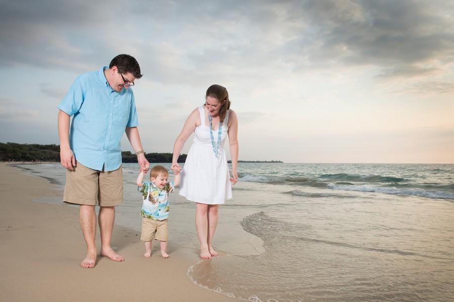 Big Island Family Photographer, Kona sunset