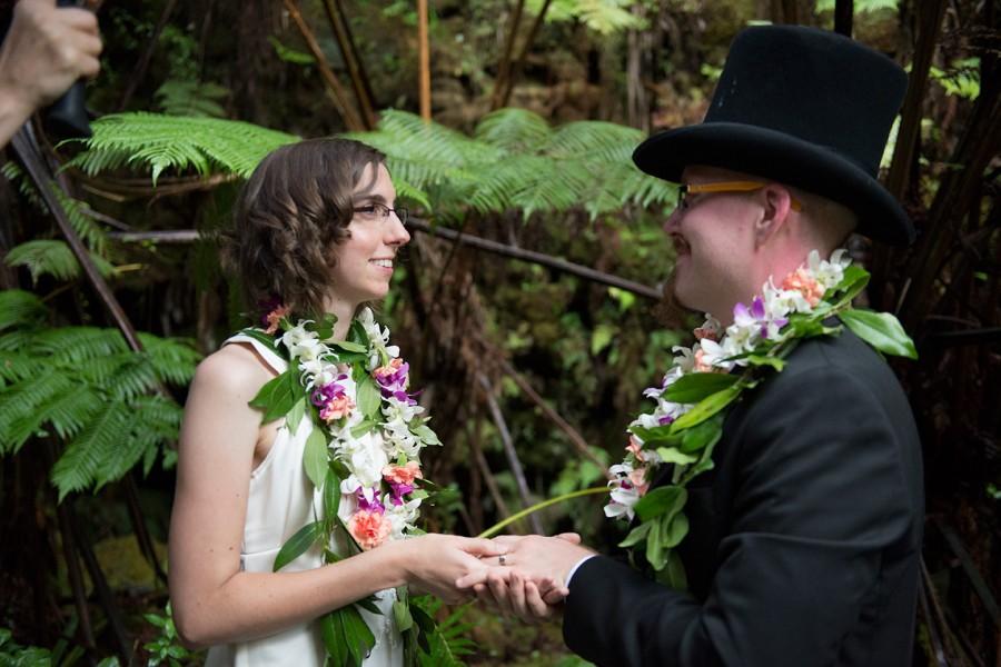 Big Island Wedding in Volcano, Kat and Jason