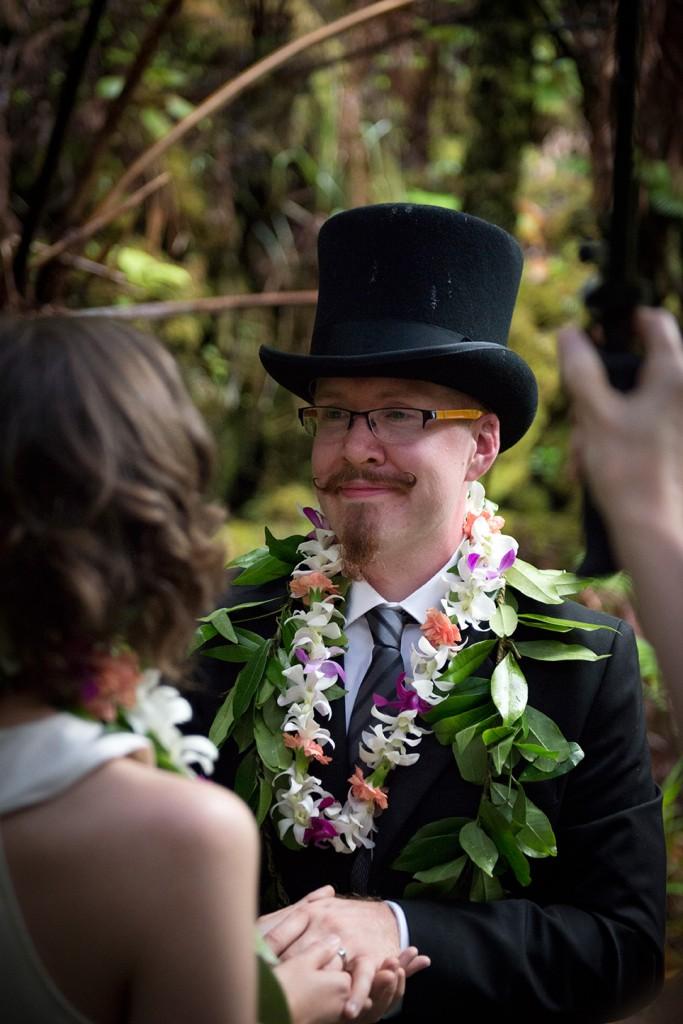 Big Island Wedding in Volcano, Volcano Wedding Photographer
