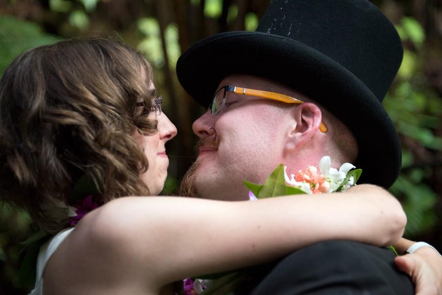 Big Island Wedding in Volcano, Hawaii Wedding
