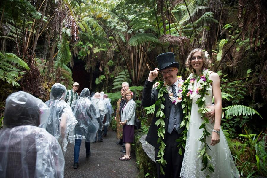 Big Island Wedding in Volcano, Big Island Wedding