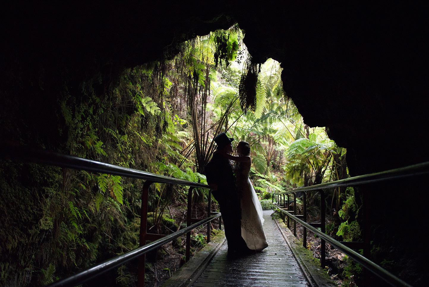 Big Island Wedding In Volcano Of Hawaii Photographer