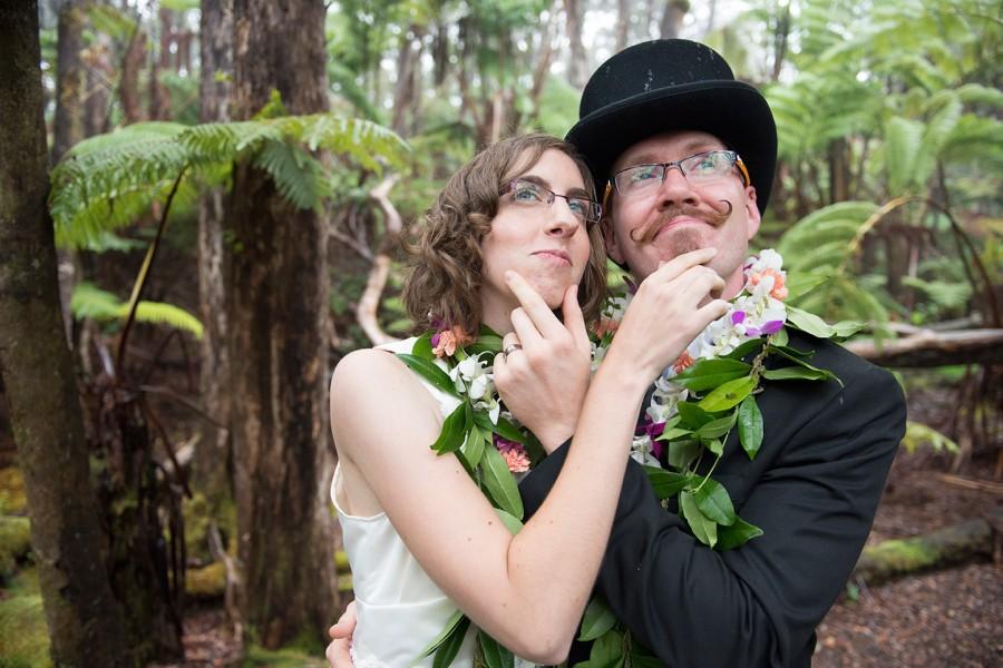 Big Island Wedding in Volcano, Hawaiian Wedding